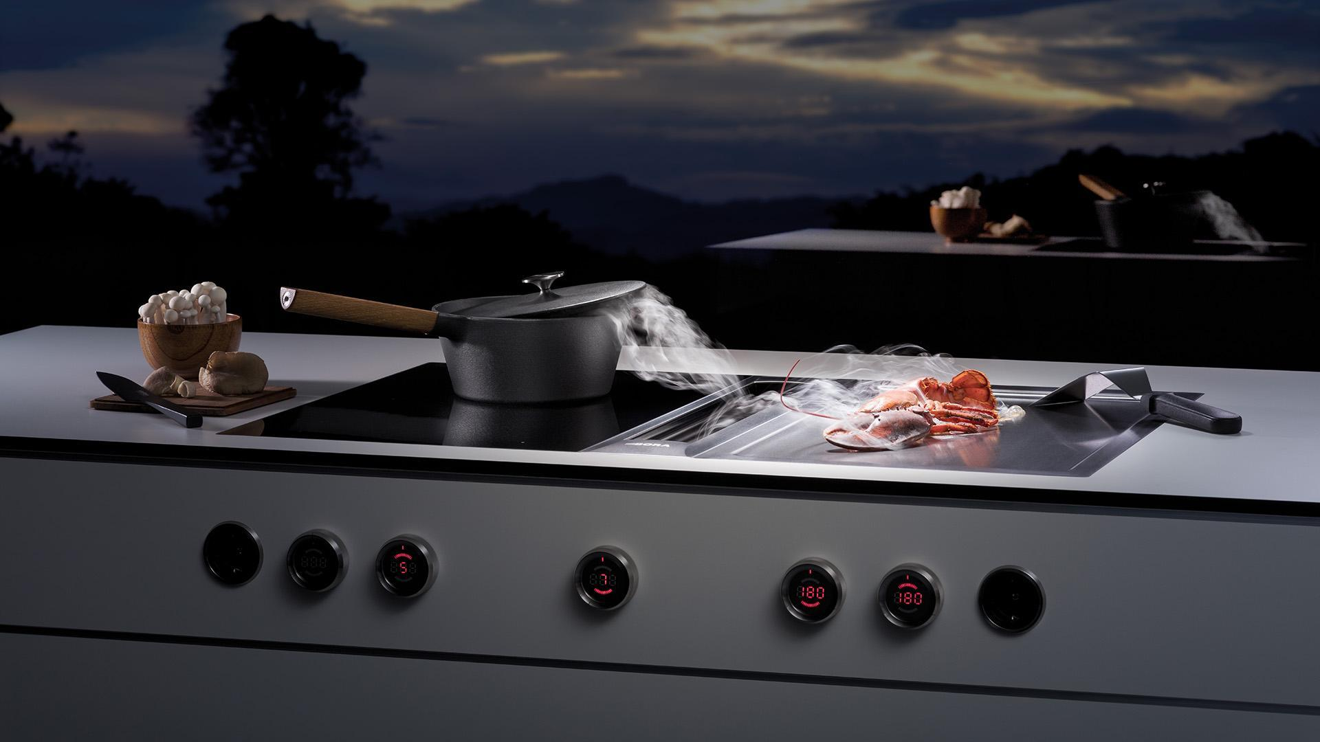 The Bora professional range cooker