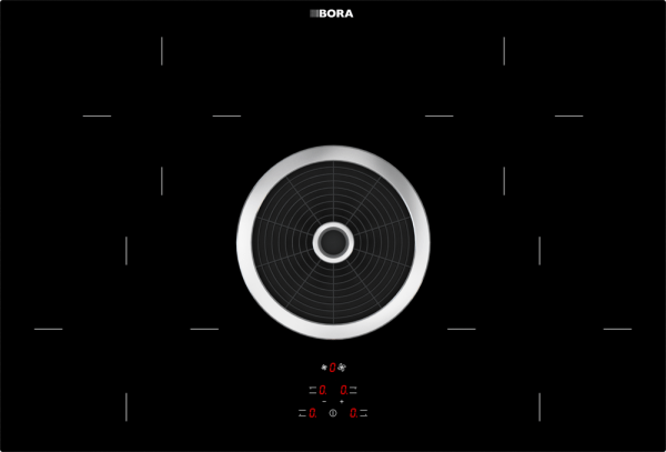 BORA Basic BIA cooktop with exhaust