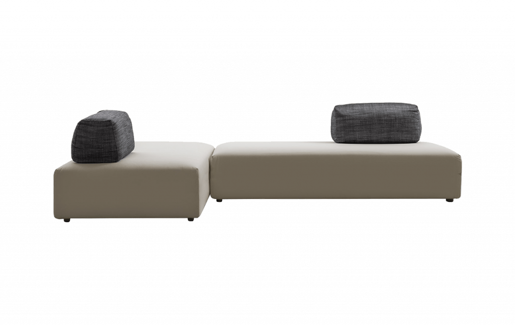 L-shape Aplomb Sofa by Jesse