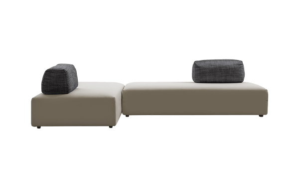 L-shape Aplomb Sofa by Jesse
