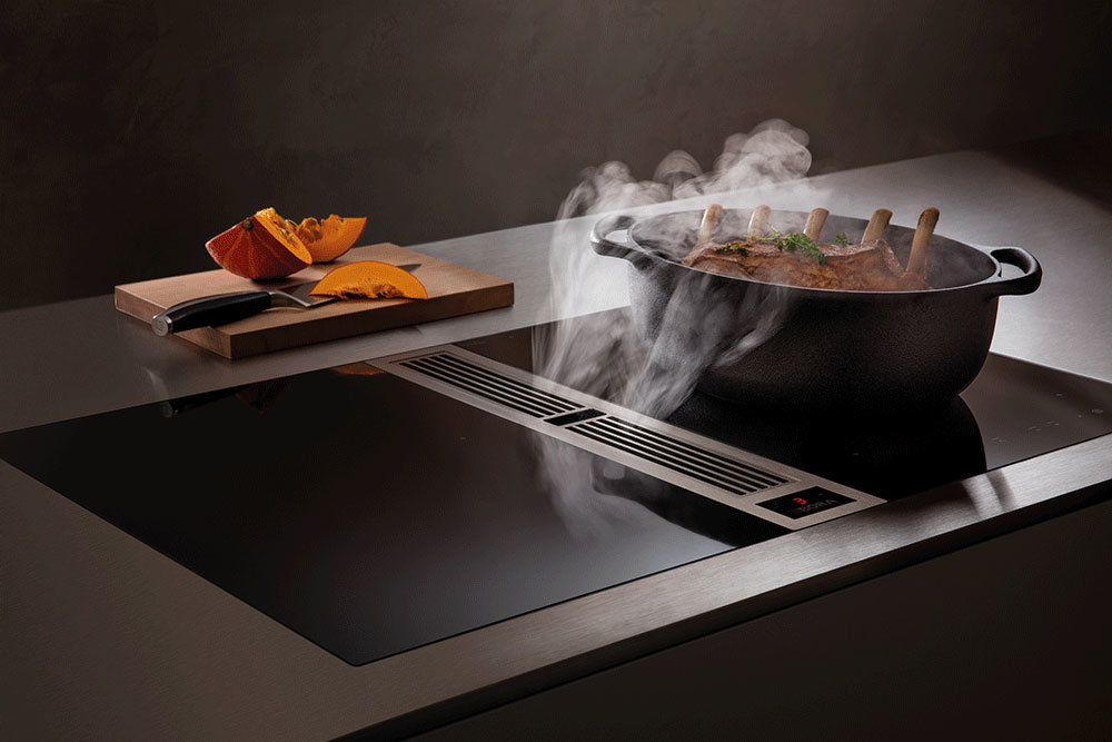 Bora Classic 2.0 with downdraft extractor