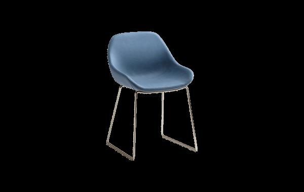 biba chair blue