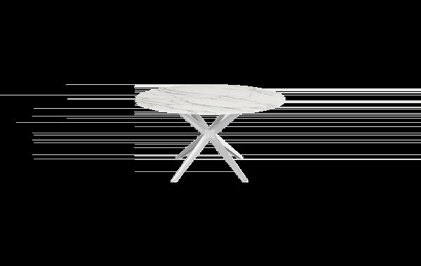 Round Stern White Table