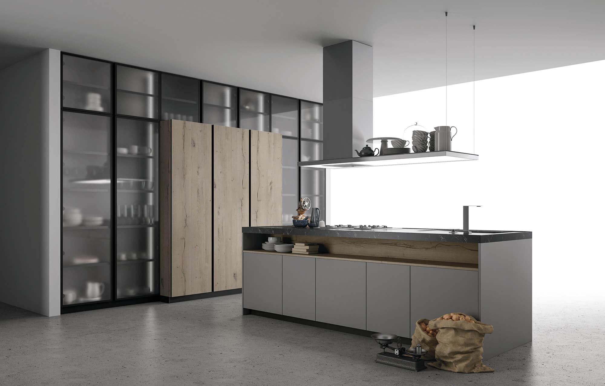 ASPEN Handleless Kitchen