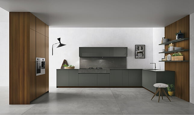 Materia Handleless kitchen
