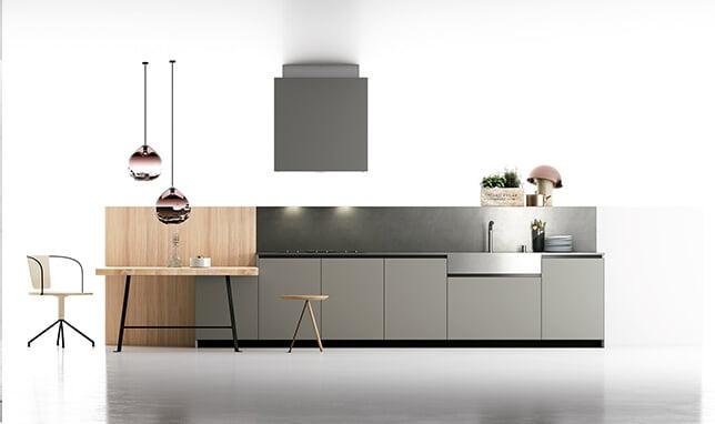 Materia Handleless kitchen