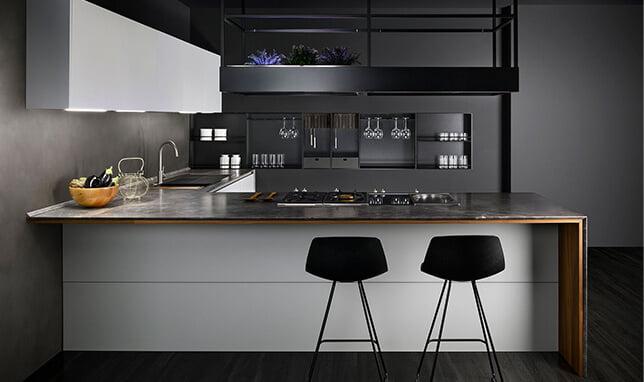 Volumi Handleless kitchen